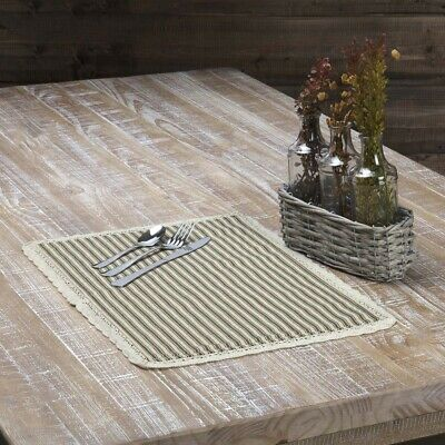 vhc farmhouse placemat set of 6 dining