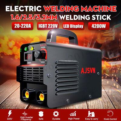 220v 225a Digital Electric Welding Machine Igbt Inverter Mma Arc Stick Welder