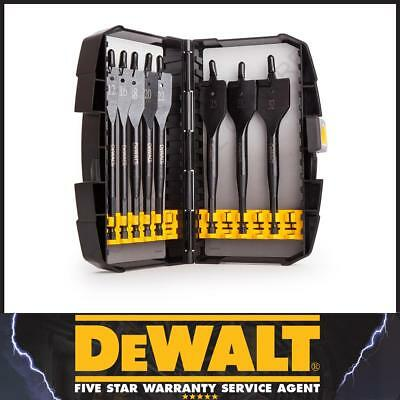 DeWalt DT7943 DT7943B Extreme Flat Wood Spade Drill Bit Set 8 Piece 12mm - 32mm