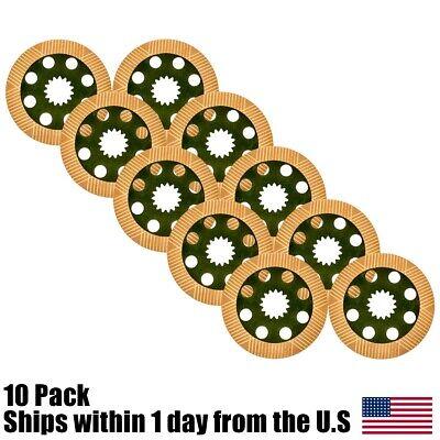 10pk Brake Friction Plate Part No. 45010224 45820353 For Jcb Backhoe 3cx 4cx