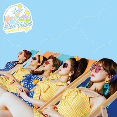 Red Velvet[Summer Magic]Mini Album Normal Ver CD+Book+Poster+Card+Gift+Tracking
