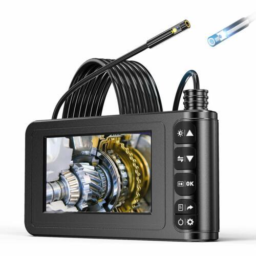 Industrial Endoscope,YINAMA Dual Lens 4.3 inches 1080P Screen 8MM Borescope Snak