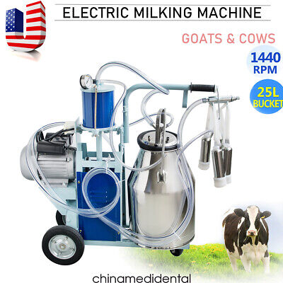2020 Electric Milking Machine Milker Farm Cows Bucket Stainless Steel Bucket Fda