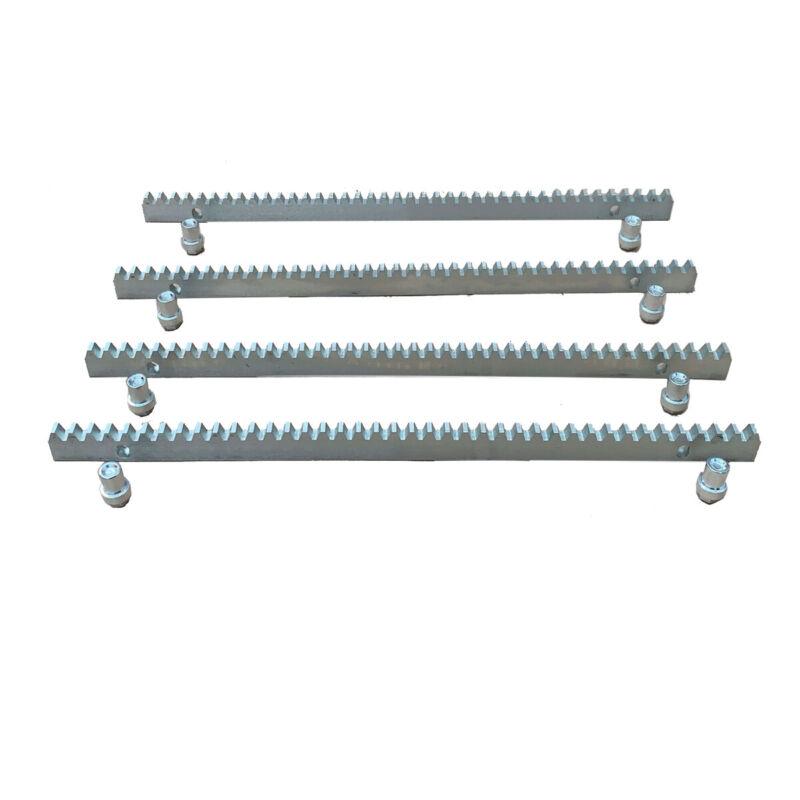 Steel Gear Racks for Sliding Gate Opener Operator 10mm Thickness 4pcs 0.5m US