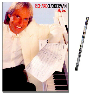 Richard Clayderman My Best - Klavier Noten - ML2093 - 9788882919764