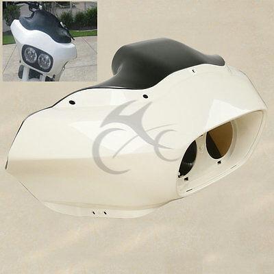 Unpainted ABS Inner Outer Headlight Fairing For Harley Road Glide FLTR 1998-2013