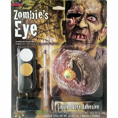 Zombie Falling Eye Makeup Special FX Kit Halloween Costume Accessory