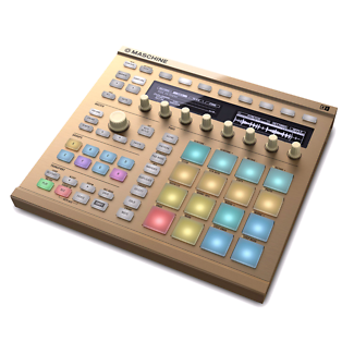 Maschine MK2 Limited Edition Gold Groove Production Studio (Rare)