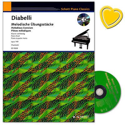 Diabelli Melodische Übungsstücke - op. 149 - Schott - ED9009 - 9783795752729
