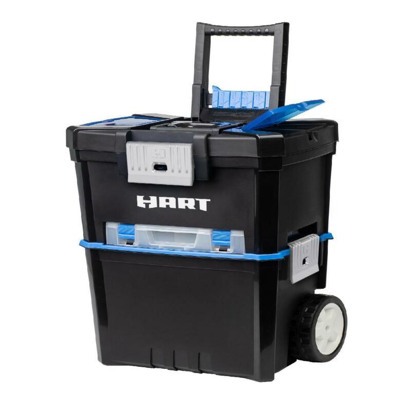 Rolling Organizer Tool Box 3-in-1 Chest Workshop Case Portab