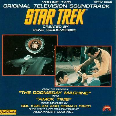 CD Star Trek Original TV Score Volume 2