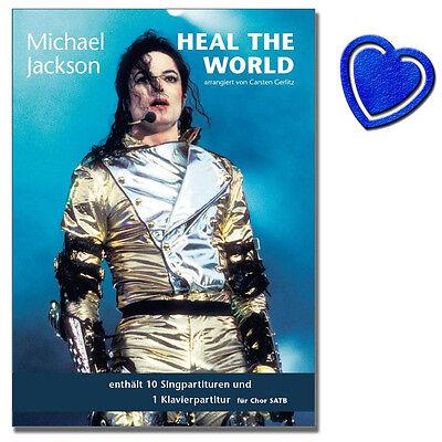 Michael Jackson Heal The World - Chor (SATB), Klavier - BOE7740 - 9783865438461
