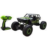 1:10 2.4Ghz Rock Crawler 4 Wheel Drive Radio Remote Control RC Car Green New