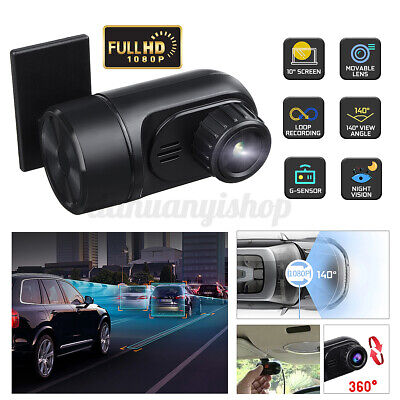 140° USB HD 1080P Car DVR Dash Cam Camera Video Driving Recorder For Android 4.1