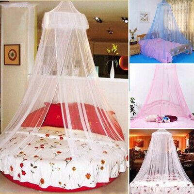 Baby Infant Round Dome Mosquito Net Toddler Bed Crib Canopy Netting White Babe Canopy Toddler Bed