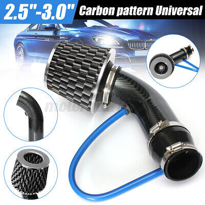 2.5''-3.0'' Universal Cold Air Intake Induction Hose Pipe Kit System Filter