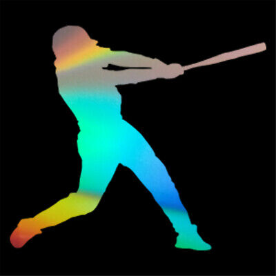 - Gym Wall Sticker Baseball Player Sports Art Mural Decal Boys Room Door Decor