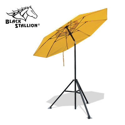 Revco Black Stallion Flame Retardant Umbrella W Stand Ub150