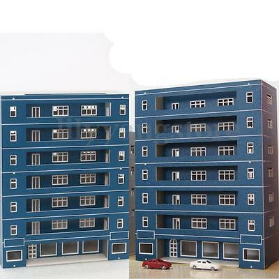 Used, N Scale ( Apartment School Building ) 1:144 For Gauge Outland Model Train Layout for sale  Shipping to Canada