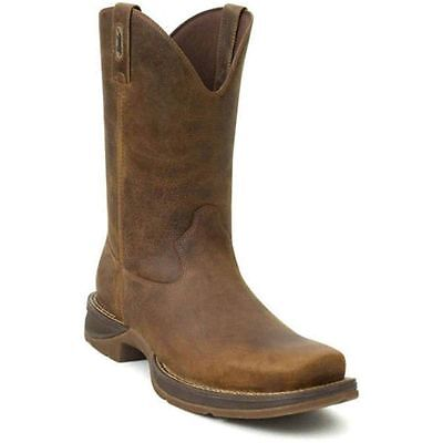 Durango Rebel Db5444 Mens 11  Brown Pull On Western Cowboy Boots