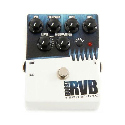 Tech 21 Boost RVB Analog Reverb Guitar FX Pedal