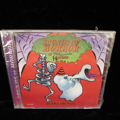 Sounds Of Horror In The Haunted House Scary Halloween Sound Effects CD - Halloween Horrors The Sounds Of Halloween