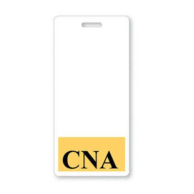5 Pack - Cna Vertical Badge Buddies - Heavy Duty Hospital Card Id Buddy