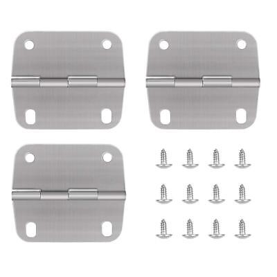 3PCS Replacement Cooler Hinges and Screws Set Stainless Steel for Coleman Cooler