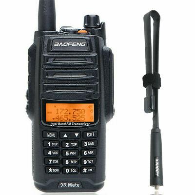 Baofeng UV-9R Mate 10W V/UHF Dual Band Waterproof Two Way Radio & 19'' Antenna