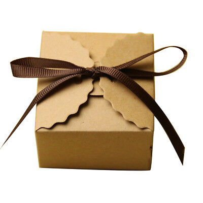 50pcs Bulk Candy Chocolate Gift Boxes Wedding Party Favor Baby Shower Filler ()