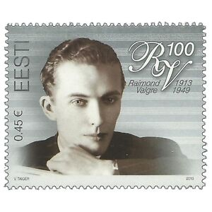 Estonia-2013-Birth-Centenary-Of-The-Singer-Raimond-Valgre-MNH