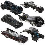 6pc Hot Wheels Cars Set DC Comics Batman Batmobile Die-Cast Cars Toys Kids Adult