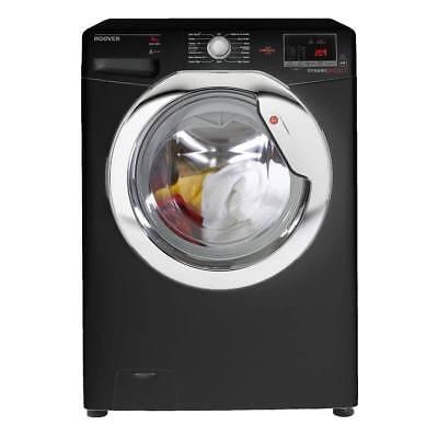 Hoover DXOC68C3B Washing Machine 8kg Load 1600rpm A+++ Energy Rating in Black