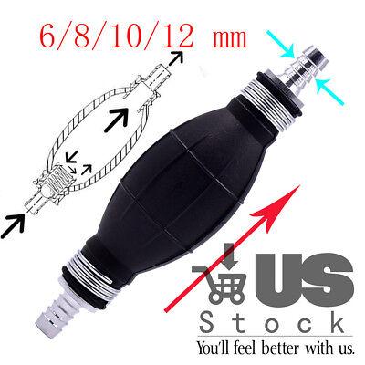 Fuel Line Pump Primer Bulb Hand Primer Gas Petrol Pump Rubber Aluminum Sales us