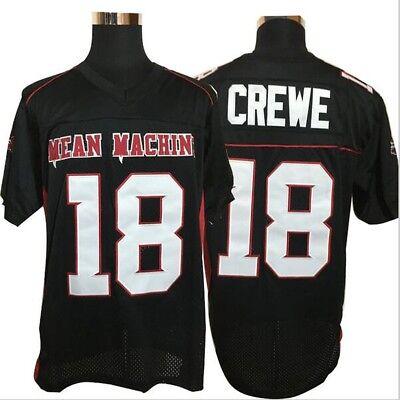 Paul Crewe # 18 Mean Machine Football Trikot Longest Yard Film Kostüm Uniform