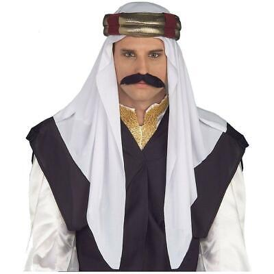 Arabian Sultan Costume Headpiece Adult Men - Arabian Costume For Men
