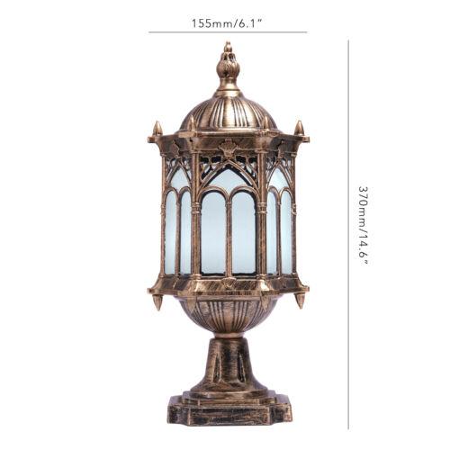 Pillar Lights Driveway Lights: Antique Driveway Lantern Outdoor Lamp Lantern Garden
