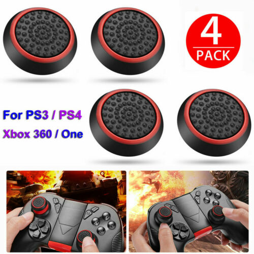4PCS PS3 PS4 XBOX 360 Analog Controller Thumb Stick Grip Joystick Cap Cover
