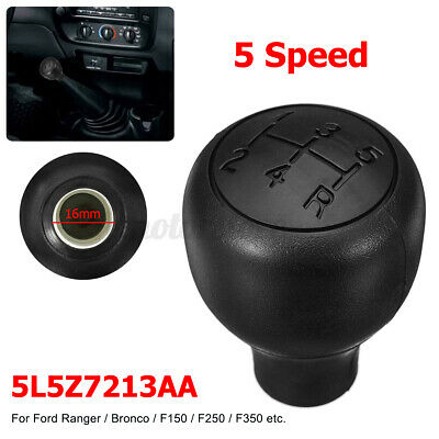 5 Speed Gear Shift Knob Shifter Fit For Ford Ranger F150 250 Bronco E-150