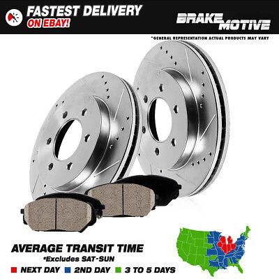Front Brake Rotors & Ceramic Pads Cadillac Escalade Chevy Silverado Tahoe Sierra
