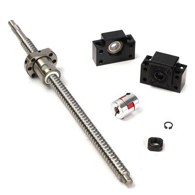 Antibacklash Rm1605--360mm Ballscrew Nutbf12bk126.35x10 Mm Couplering Set