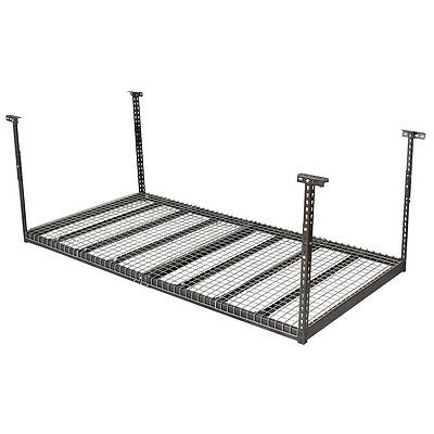 Overhead Garage Ceiling Storage 4'x8' Heavy Duty  Height Adjustable Hanging Rack