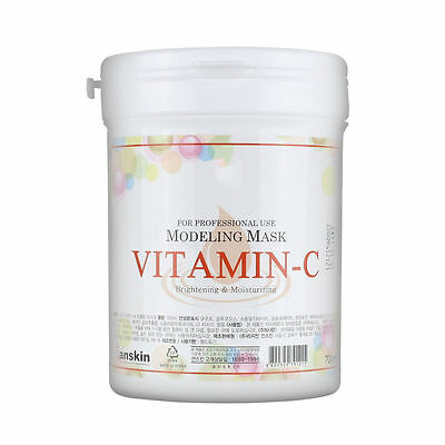 AnSkin VITAMINC Modeling Mask Powder Pack Whitening Moisturizing skin care 700ml