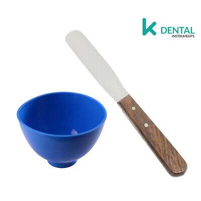 SET 2 Taza yeso y espátula de escayola Restauradora Materiales para mezclas...