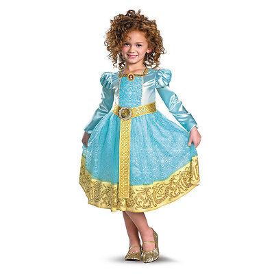 Disney Brave Merida Princess Girls Costume (Brave Costumes)