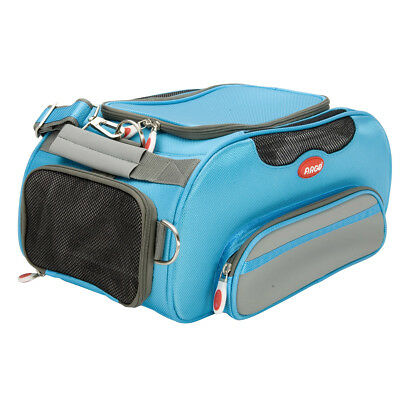 High quality heavy duty Argo aero-pet airline approved dog & cat carrier blue
