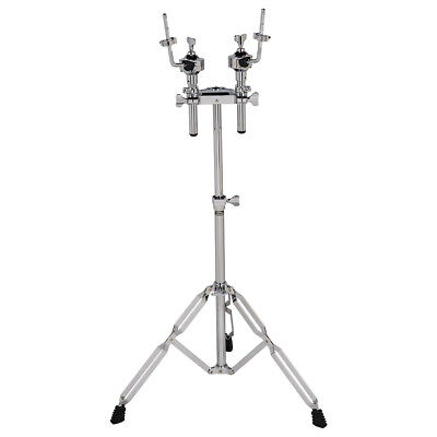 dDrum RX Series Double Rack Tom Stand Mount with Memory Locking Detachable Arms