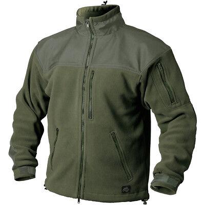 Helikon Classic Army Warm Combat Fleecevest Heren Tactische Polar Jacket Olijf S