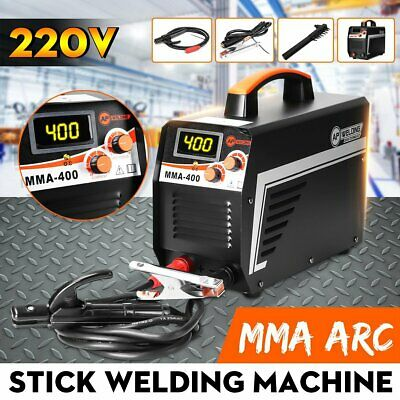 220v Mma Digital Stick Welder 400a Arc Dc Igbt Welding Inverter Machine Handheld