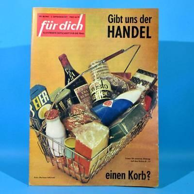 DDR FÜR DICH 38 1964 Klink Handel Horst Schulze Musterküche Altenburg Mode G